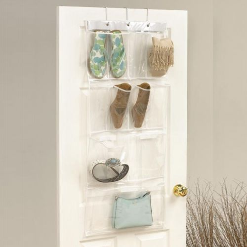 Bathroom Organiser hanging plastic bathroom storage pockets organiser