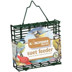 Large Rectangle Suet Fat Ball Holder