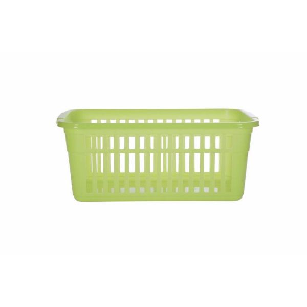 Lime Green Small To Large Plastic Shelf Tidy Storage