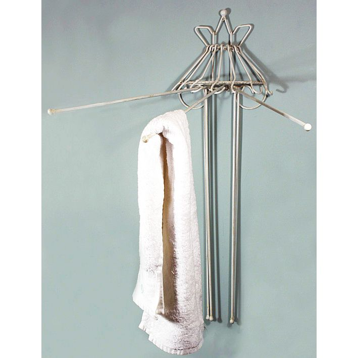 Space saving towel rack - Towel racks for small spaces concept ...