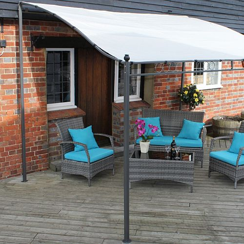 Harrogate Garden Lean To Gazebo By Paroh