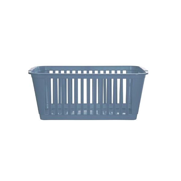 Teal Blue Small To Large Plastic Shelf Tidy Storage