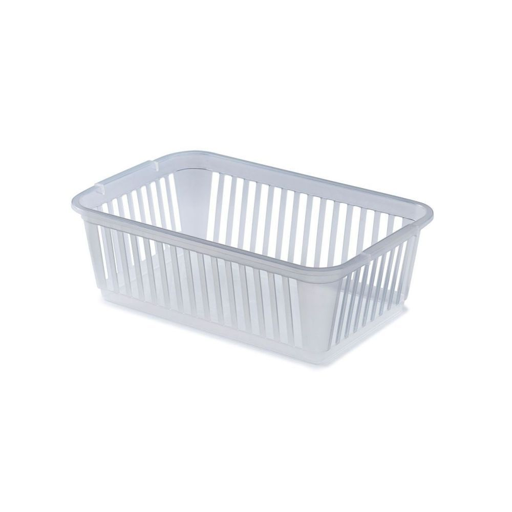 Clear Plastic Storage Baskets Amp Cupboard Organisers 4 Sizes