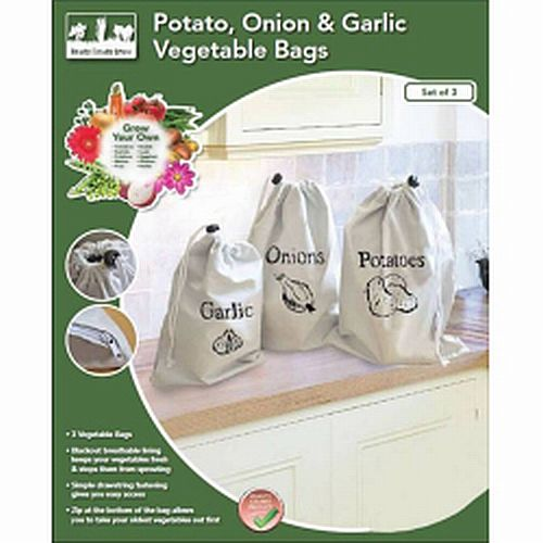 Cotton Vegetable Storage Bags