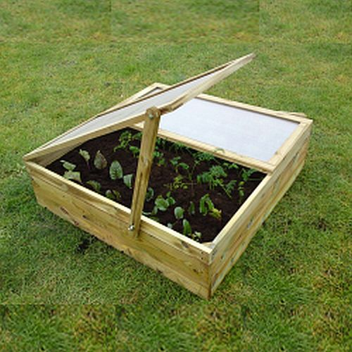Raised Vegetable Bed Planters With Propagator Lid