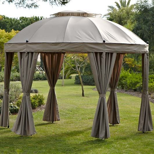 Round Harrow Garden Gazebo By Pagoda