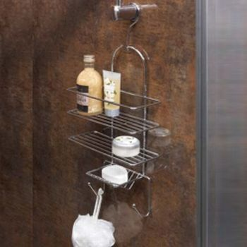 Shower Chrome Hanging Caddy Rack